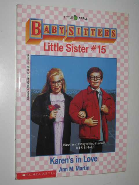 Image for Karen's in Love - Little Sister Series #15