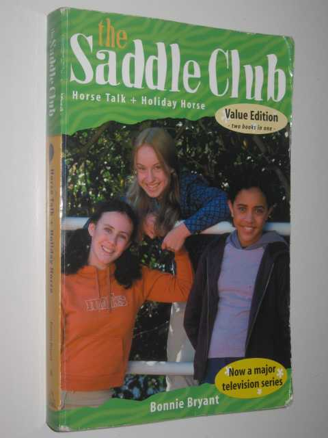 Image for Horse Talk + Holiday Horse - The Saddle Club Series