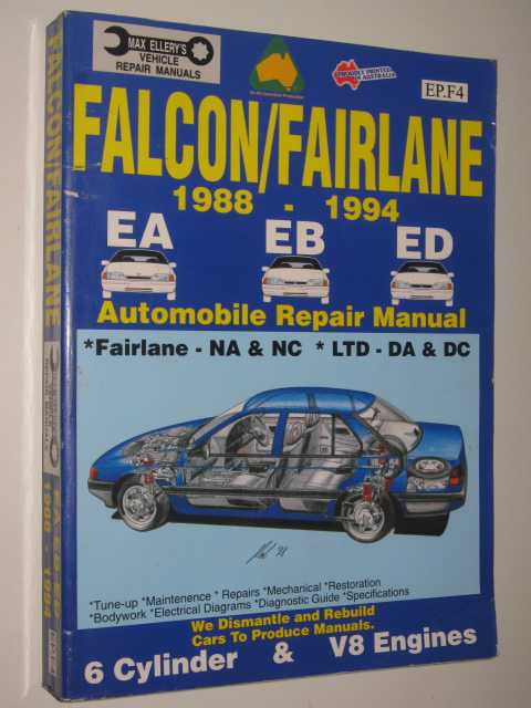 Image for Falcon / Fairlane 1988-1994 Repair Manual