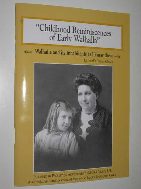 Image for Childhood Reminiscences of Early Walhalla