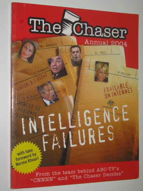 Image for The Chaser Annual 2004 : Intelligence Failures