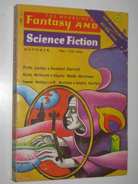 Image for The Magazine of Fantasy and Science Fiction October 1973 : Vol. 45, No. 4