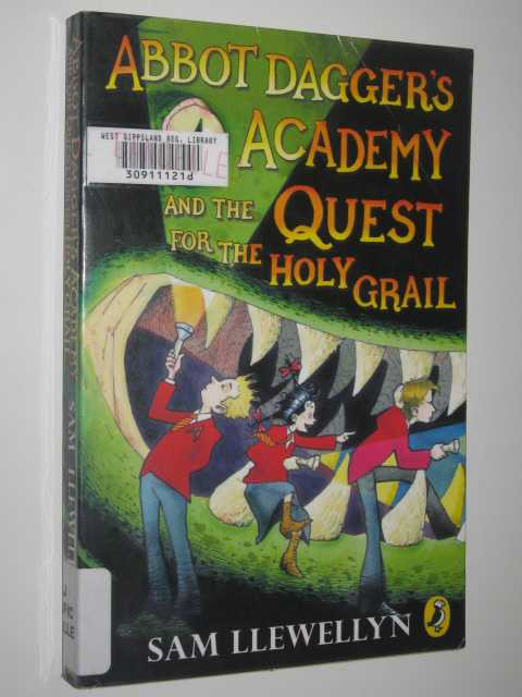 Image for Abbot Dagger's Academy And The Quest For The Holy Grail