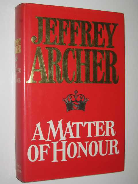 Image for A Matter of Honour