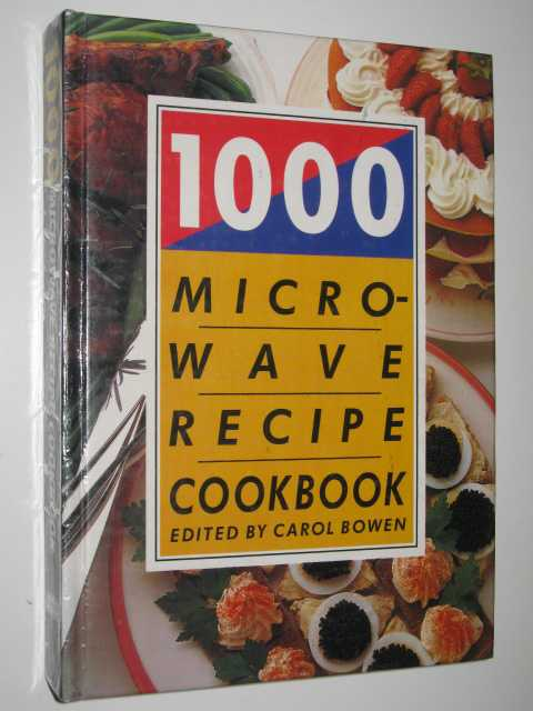 Image for 1000 Microwave Recipe Cookbook