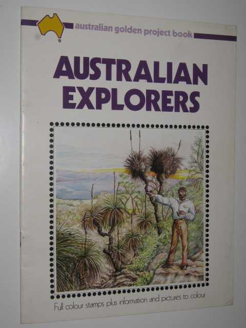 Image for Australian Golden Project Book of Australian Explorers