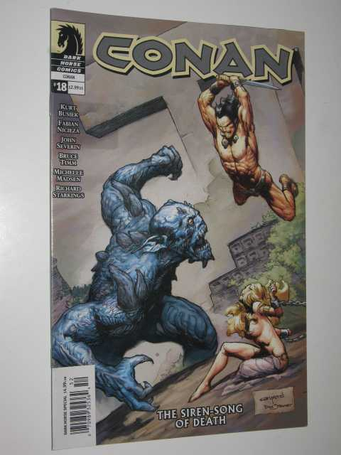 Image for The Siren-Song of Death - Conan Series #18