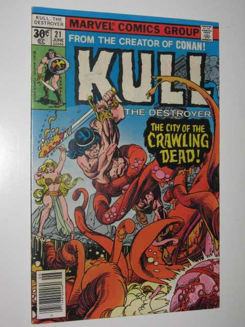 Image for Kull the Destroyer No.21 : The City of the Crawling Dead