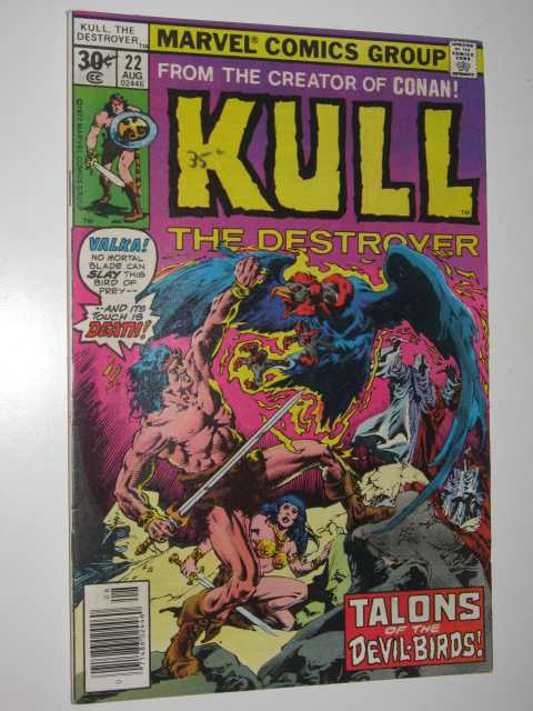Image for Kull the Destroyer No.22 : Talons of the Devil Birds