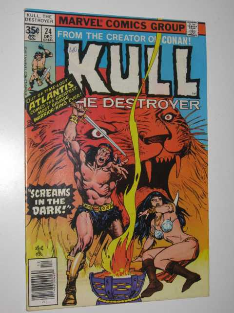 Image for Kull the Destroyer No.24 : Screams in the Dark