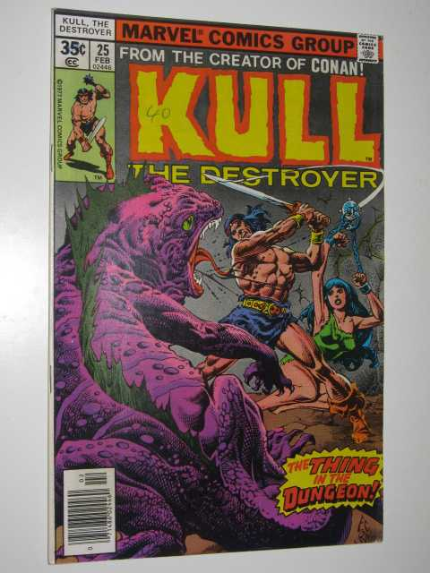 Image for Kull the Destroyer No.25 : The Thing in the Dungeon