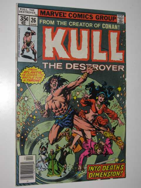 Image for Kull the Destroyer No.26 : Into Deaths Dimension