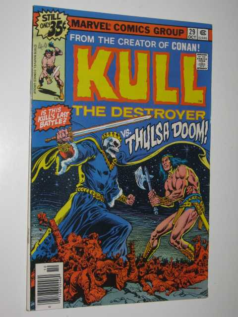 Image for Kull the Destroyer No.29 : vs. Thulsa Doom!