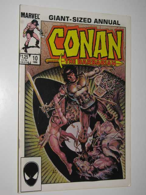 Image for Conan the Barbarian Giant-Sized Annual #10