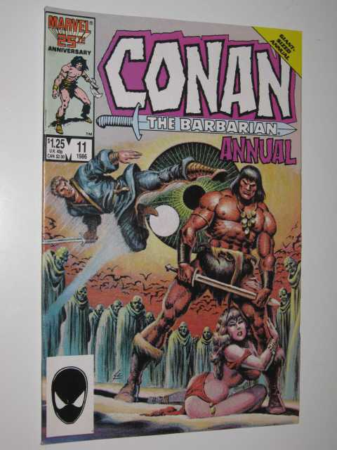 Image for Conan the Barbarian Giant-Sized Annual #11