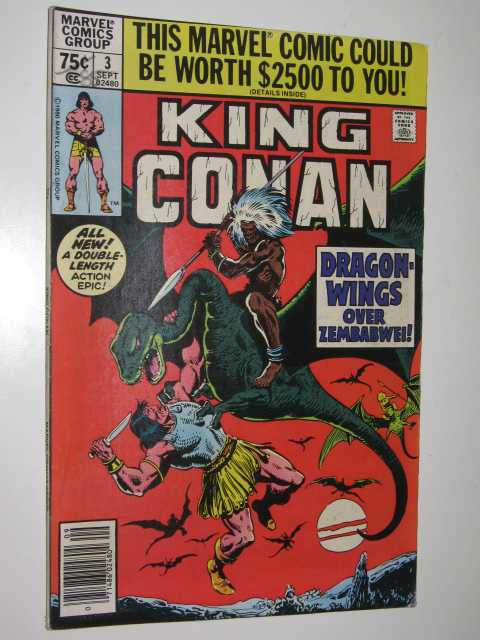 Image for Dragon Wings over Zembabwei! - King Conan Series #3