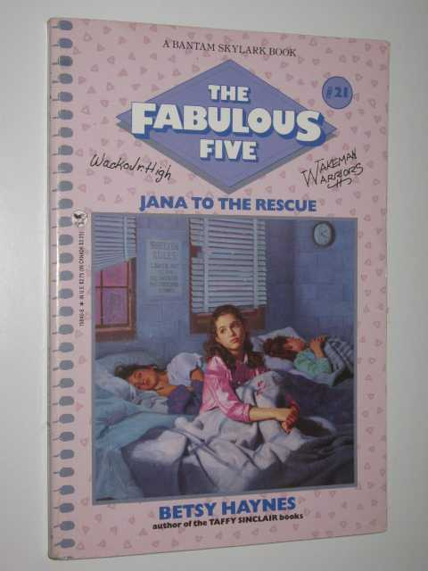 Image for Jana to the Rescue - The Fabulous Five Series #21