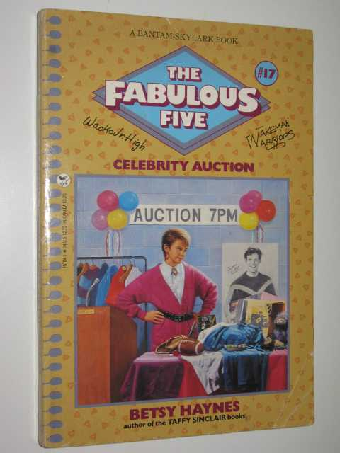 Image for Celebrity Auction - The Fabulous Five Series #17