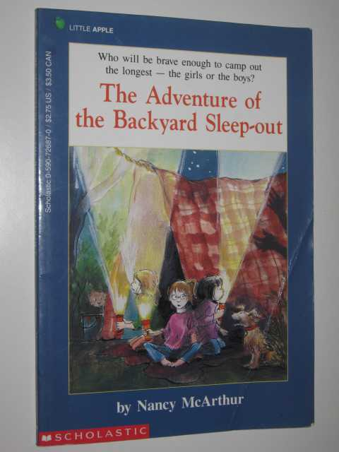 Image for The Adventure of the Backyard Sleep-out