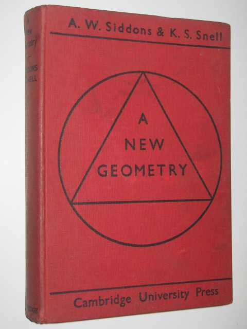 Image for A New Geometry