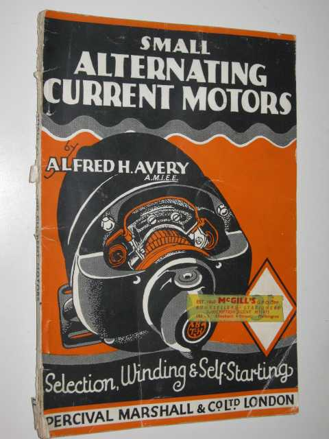 Image for Small Alternating Current Motors