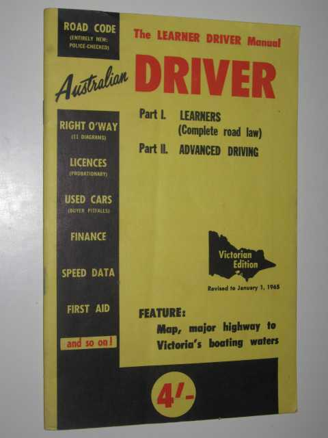 Image for Australian Driver: The Learner Driver Manual