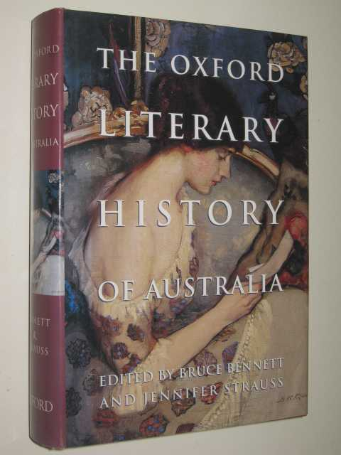 Image for The Oxford Literary History of Australia