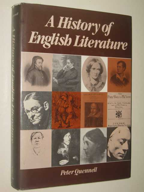 Image for A History of English Literature