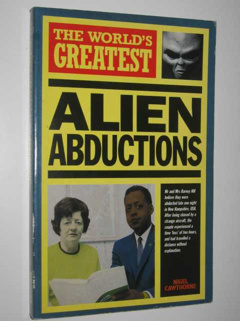 Image for The World's Greatest Alien Abductions