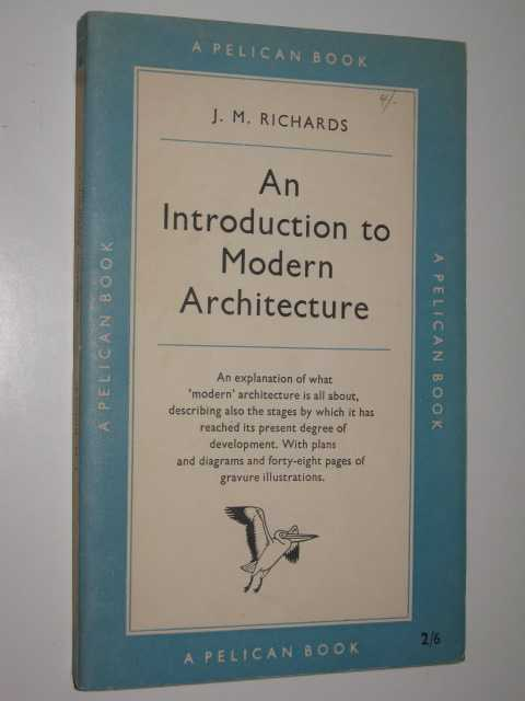 Image for An Introduction to Modern Architecture