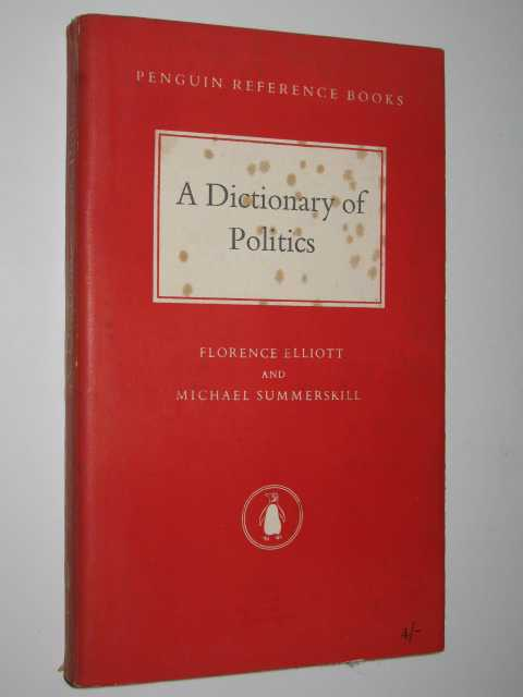 Image for A Dictionary of Politics