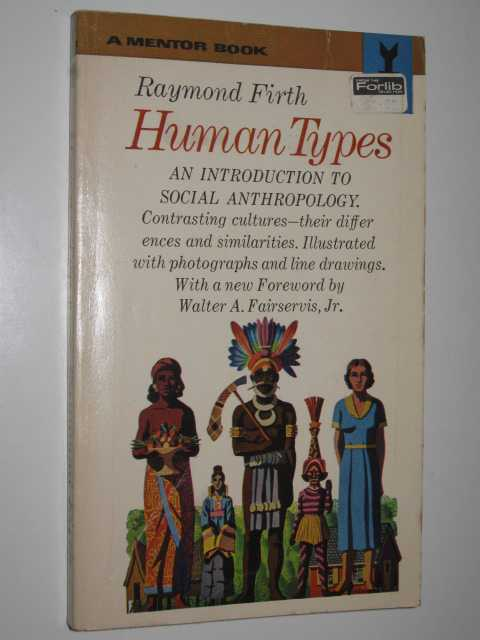 Image for Human Types : An Introduction to Social Anthropology