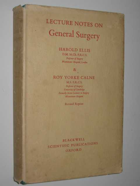 Image for Lecture Notes of General Surgery