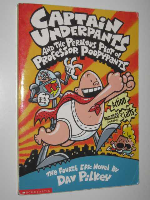Image for Captain Underpants and the Perilous Plot of Professor Poopypants