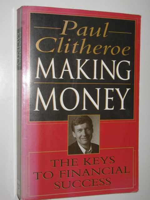 Image for Making Money : Keys to Financial Success