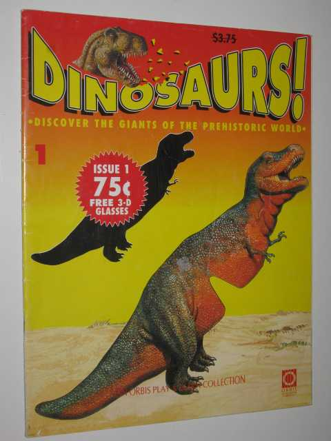 Image for Discover The Giants Of The Prehistoric World - Dinosaurs! Series #1