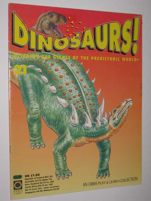 Image for Discover The Giants Of The Prehistoric World - Dinosaurs! Series #21