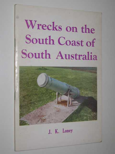 Image for Wrecks on the South Coast of South Australia
