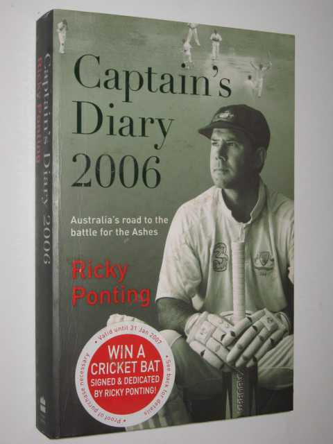 Image for Captain's Diary 2006 : Australia's Road to the Battle for the Ashes