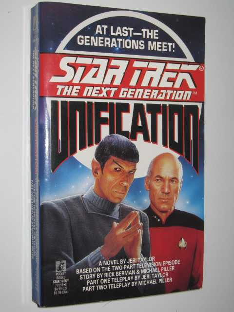 Image for Unification - STAR TREK: The Next Generation Series