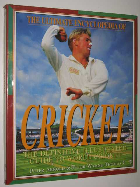 Image for The Ultimate Encyclopedia of Cricket