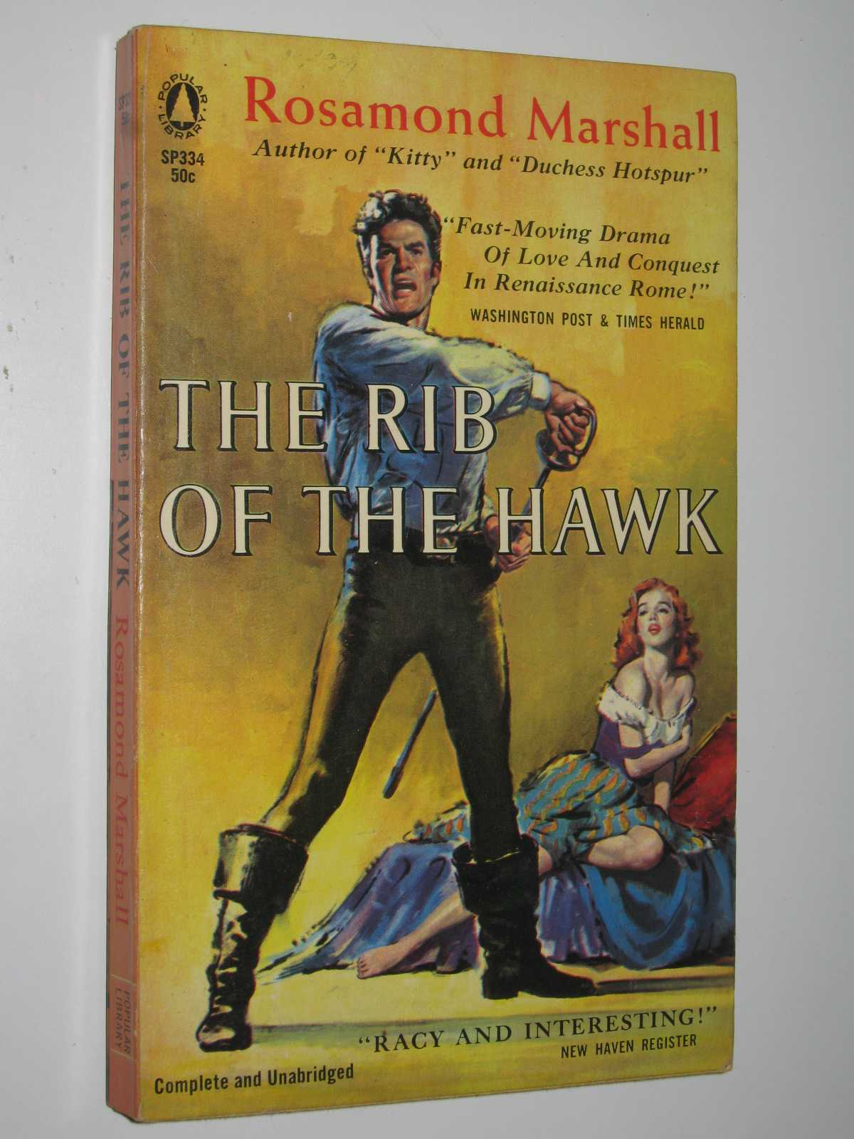 Image for The Rib of the Hawk