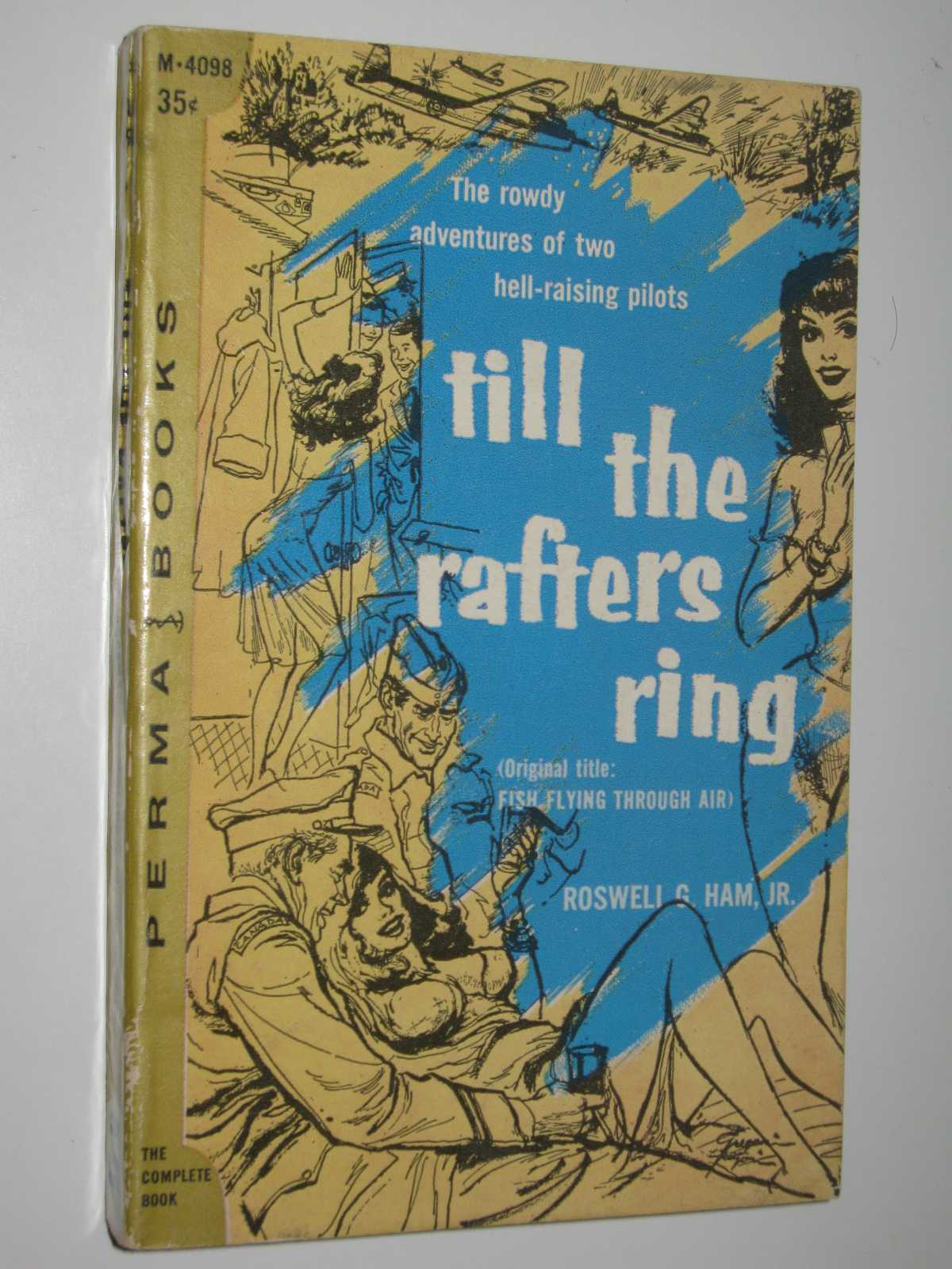 "Image for Till the Rafters Ring : Orig Title ""Fish Flying Through Air"""