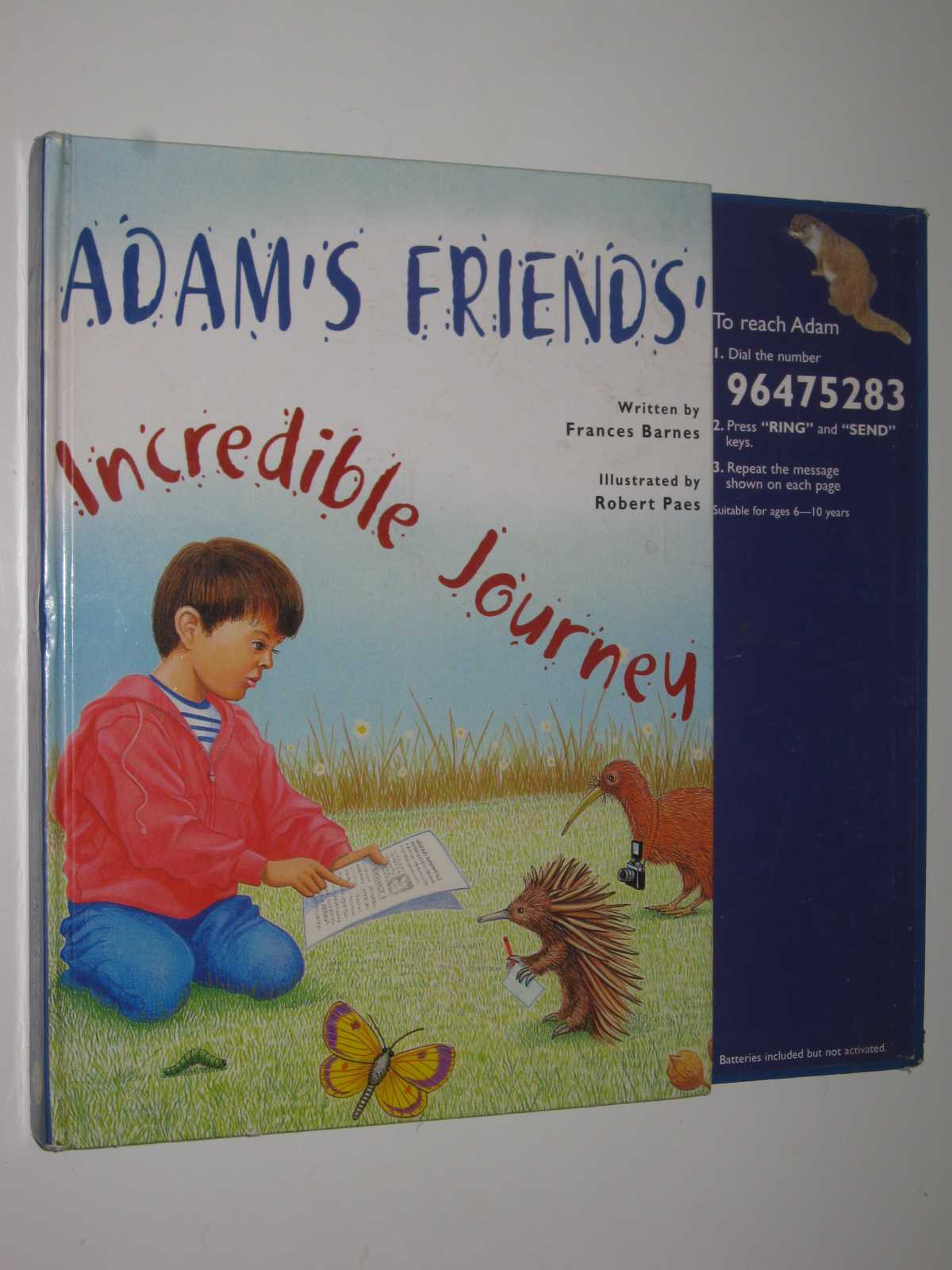 Image for Adam's Friends' Incredible Journey
