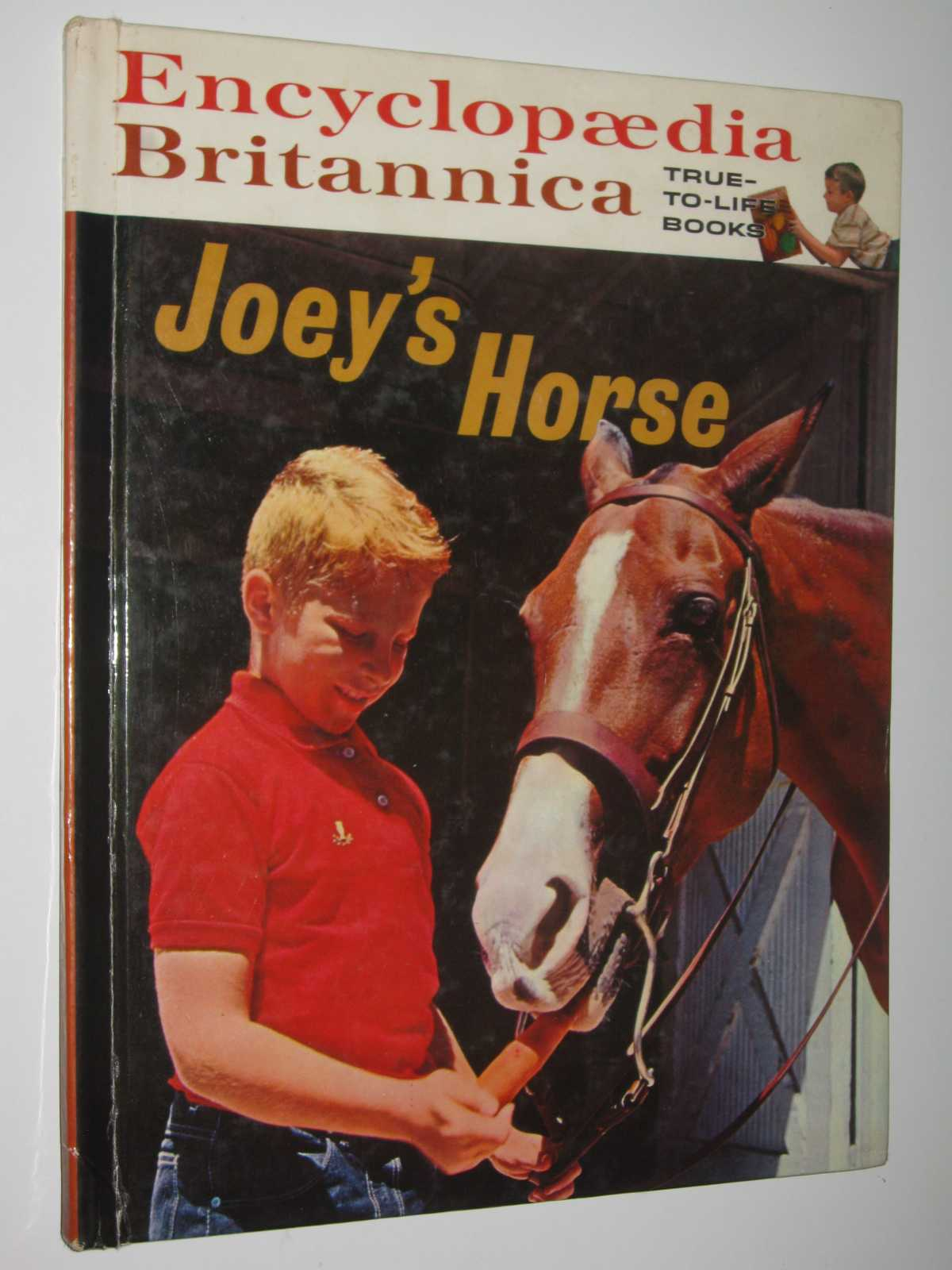 Image for Joey's Horse - Encyclopaedia Britannica True-to-Life Books