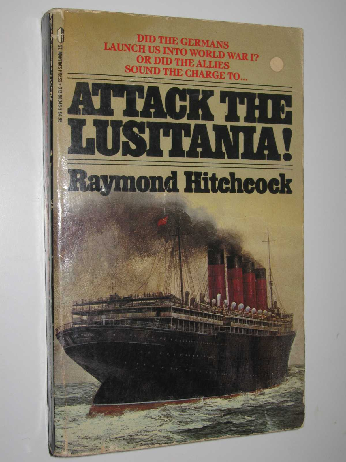 Image for Attack the Lusitania!