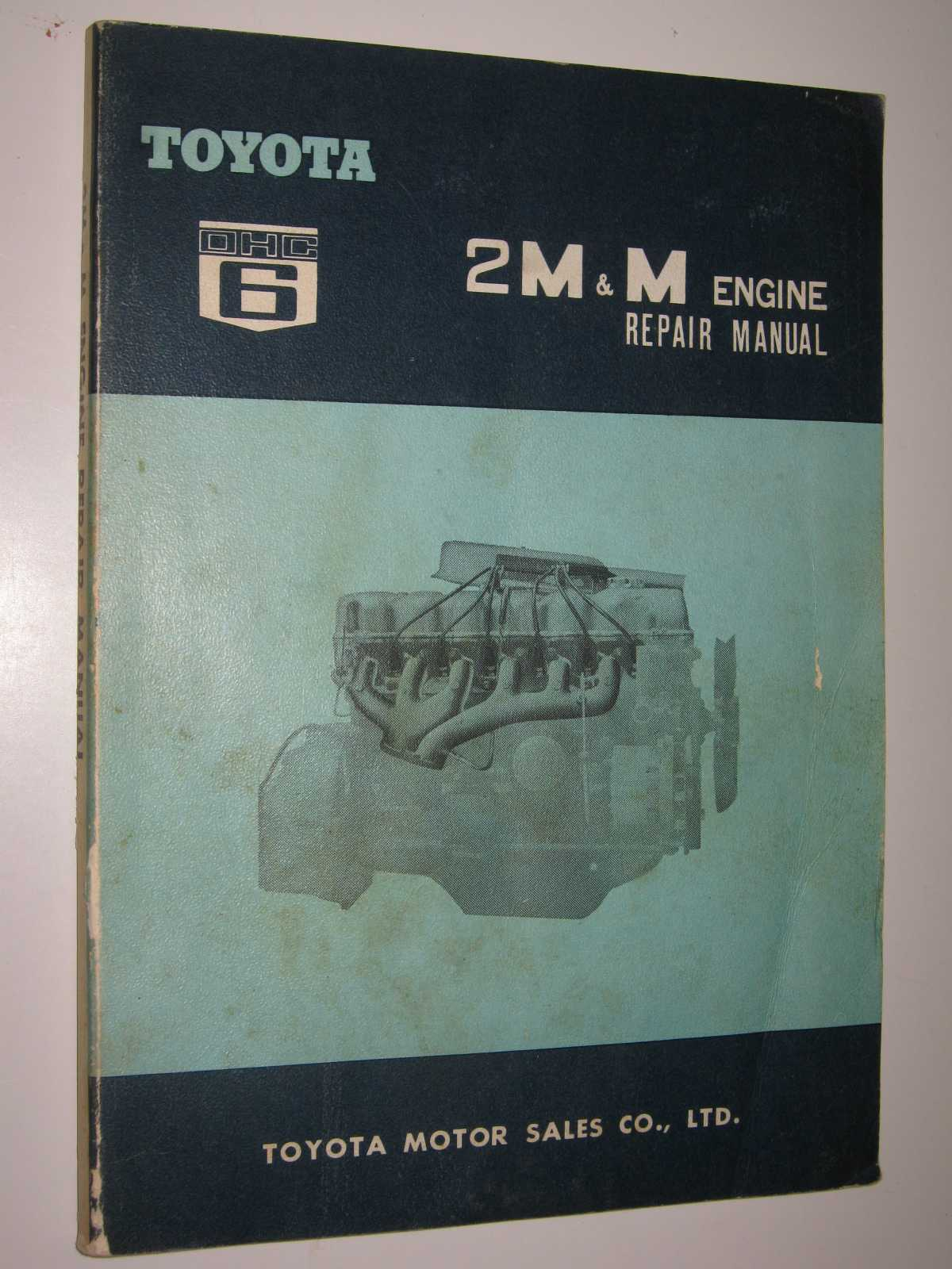 Image for Toyota 2M & M Engine Repair Manual : No. 96110-1