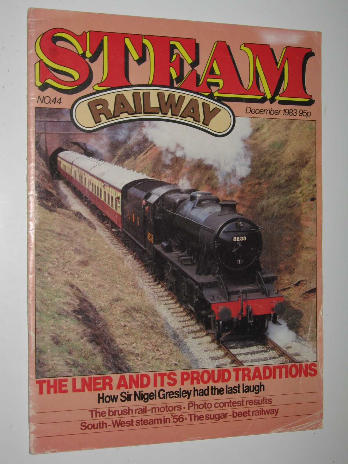 Image for Steam Railway Magazine No. 44 : December 1983