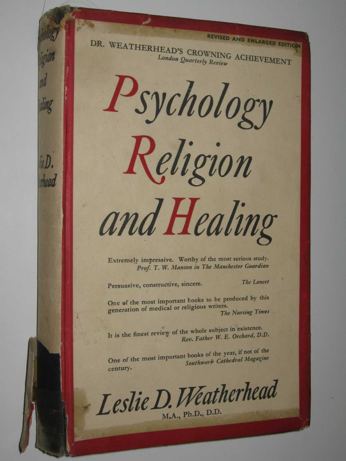 Image for Psychology, Religion And Healing