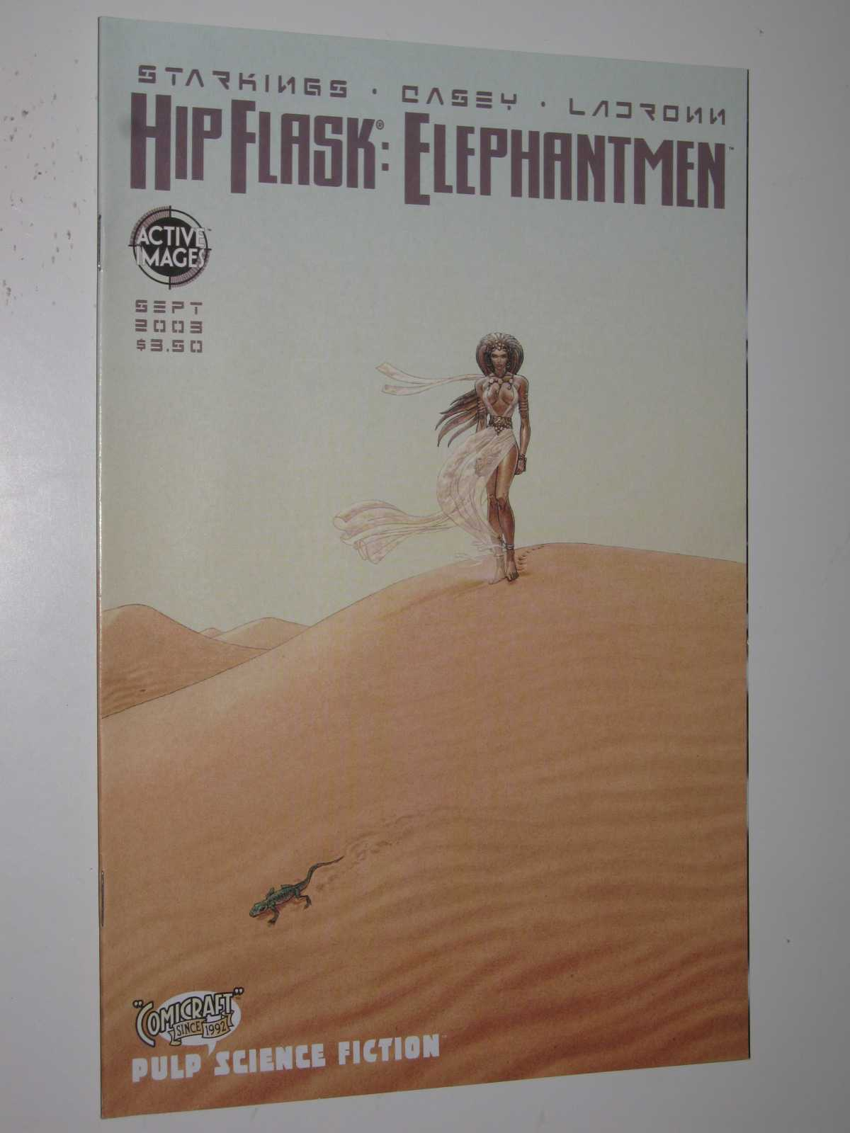 Image for Hip Flask: Elephantmen September 2003 - Cover 4 of 4